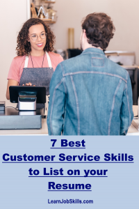 Customer Service Skills to List on your Resume