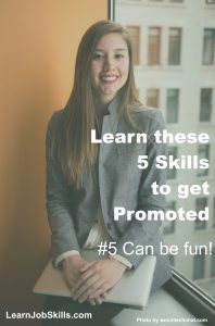 5 Skills to get Promoted